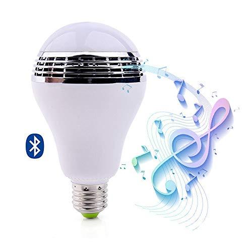 Smart Bluetooth Muziek Luidspreker LED, E27 Bluetooth Smart RGB LED Lamp Speaker Muziek Lamp APP Afstandsbediening Muziek Licht Lamp voor Home Stage Party Decoratie