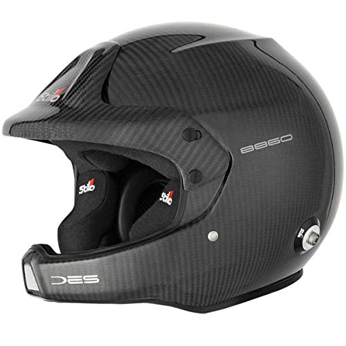 Stilo aa0210bg1d55 WRC des Carbon Electro Rally casco, 55