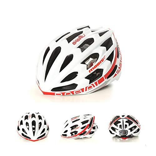 Zavddy-SP Casco de Bicicleta Música Bluetooth del Casco de Ciclista Inteligente Ciclismo...