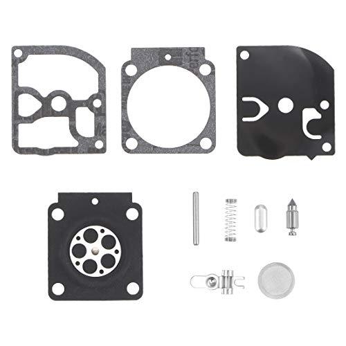 sourcing map RB-100 Carburatore Ricostruzione Kit Gommino Diaframma per STIHL HS45 FS55 FS38 BG45 MM55 Mini Tiller 4137 Emu Decespugliatore Motori Carb