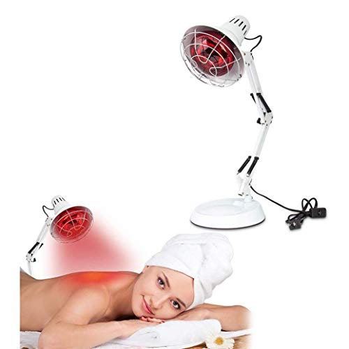Great Deal! Floor Stand Massage Light Heat Lamp Red Light Therapy Set for Body Muscle Joint Pain Rel...