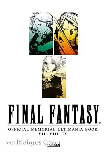 Final Fantasy - Official Memorial Ultimania Book VII VIII IX: behandelt die Spiele VII VIII und IX