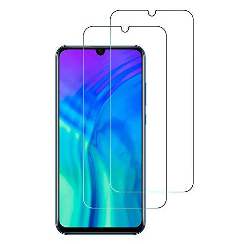 2Pack, Panzerglas Schutzfolie für Honor 20 Lite, Displayschutzfolie, Hohe Auflösung Glas, [9H Härte], [Crystal Clearity], [No-Bubble] Compatible für Huawei Honor 20 Lite