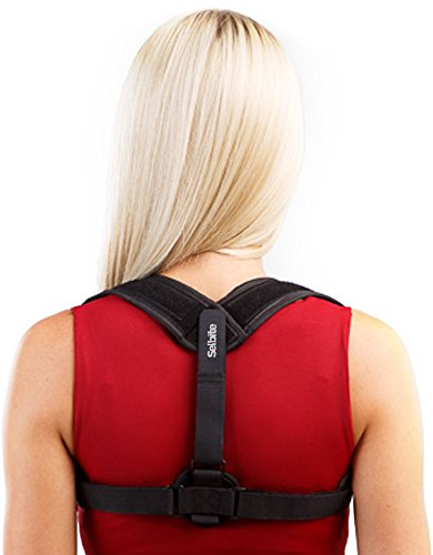 Back Posture Corrector for Women Men - Primate Posture Brace - Back Straightener - Shoulder Brace -...