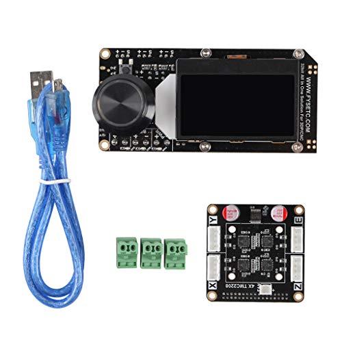 B Blesiya AIO II V3.2 MCU 32 Bit Controller Board W / TMC2208 Step Driver Panel For CNC