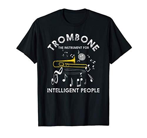 Trombón El Instrumento Para Gente Inteligente Trombonista Camiseta