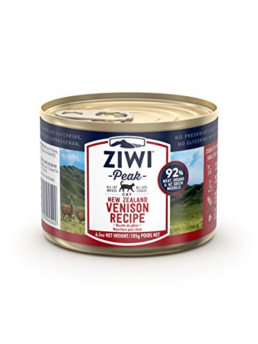 ZIWI Peak Canned Wet Cat Food Venison Recipe | Chewy