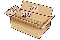 In The Box ダンボール 段ボール「衣類用A(744×434×高さ289mm) 10枚」茶色