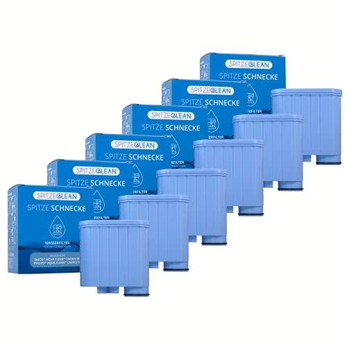 Kalkfilter für Saeco Kaffeevollautomat – Wasserfilter Ersatz für Philips Aqua Clean Filter Saeco CA6903/10 CA6903/00, Kompatibel mit allen Aqua Clean Philips Kaffeemaschinen - Spitze Schnecke 6 Stück