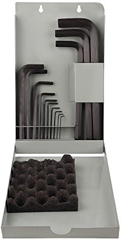 Reid Supply Company Sechskantschlüssel Eklind Eklind Eklind (metrisch, Größen 1,3 mm bis 17 mm, 13 Stück in Metallkoffer, L-Style, Sechskantschlüssel, Eklind (1 Set) von Reid Supply Company B0184W1X4W | Vogue  03d86d