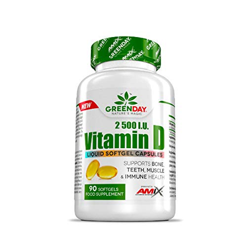 AMIX GreenDay Vitamin D 2500 I.U. - 90 caps.