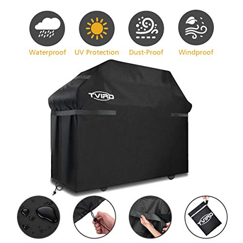 Telo Barbecue Cover Copri Barbecue BBQ Impermeabile Lavabile Anti Polvere Sole