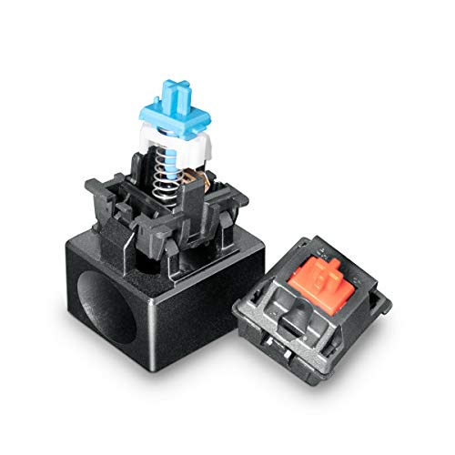 Metal Switch Opener, VELOCIFIRE Cherry MX Switch Openers for Mechanical Keyboard, Aluminum Alloy Switch Open Tool(Black)
