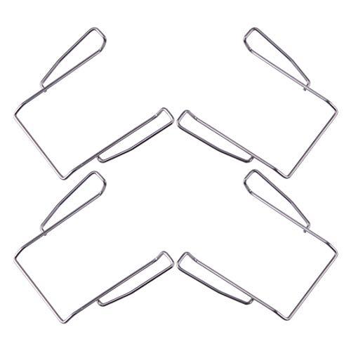 LETAOSK 4 Stück Metall Taschengürtelclip passend für Sennheiser EW100 EW300 EW500 EW500 G1 G2 G3 Bodypack