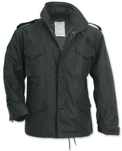 Surplus M65 Fieldjacket Jacke, SCHWARZ, XXL