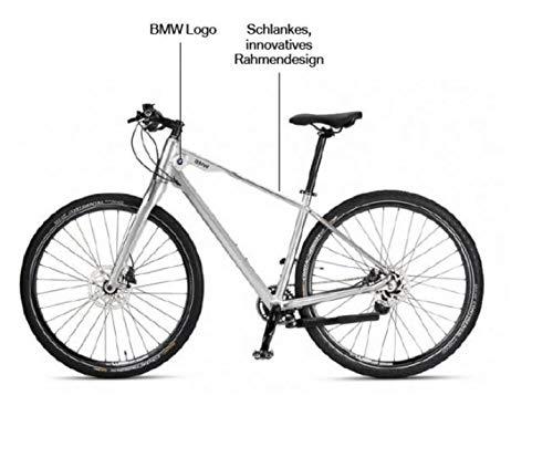 BMW Original Cruise Bike/Fiets in glanzend zilver - zilver glanzend 2019/2021 maat L