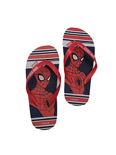 Tongs Spiderman - Marvel garçon 100% polyethylene (ROUGE, numeric_32)