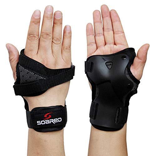 ACHICOO 1 Paar Unisex Handgelenkschutz Unterstützung Palm Pads Protector für Inline Skating Ski Snowboard M weiblich Outdoor-Produkte