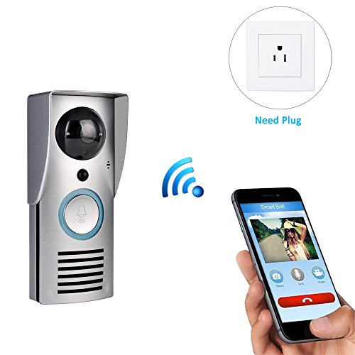 hd camera doorbell with smart motion detection