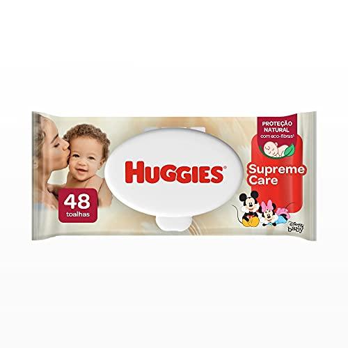 Huggies Lenços Umedecidos Supreme Care, 48 toalhas