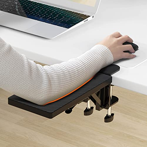 HONJIE Computer arm Support Bracket, Suitable for Office desks, Sturdy Mouse arm Support, Computer Desk Extender, Suitable for Home and Office