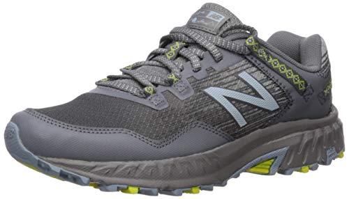 New Balance Women's 410 V6 Trail Running Shoe, Orion Blue/Sulphur Yellow, 9 W US