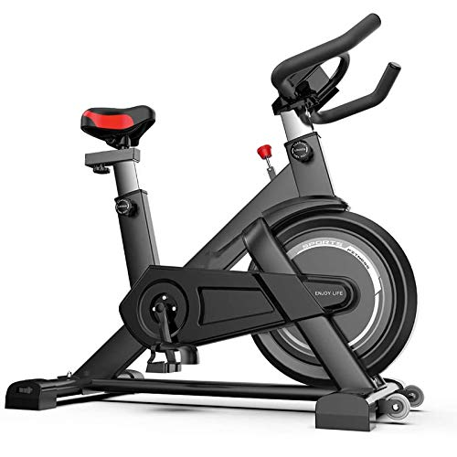 WJFXJQ Bicicleta de Ciclismo Interior con ribera magnética Ciclo de Bicicleta Bicicletas estacionarias, Ultra Tranquilo