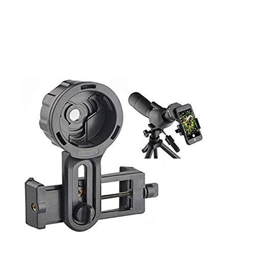 Universal Cell Phone Adapter Mount Smartphone Quick Photography Adapter Mount Compatible Monocular Binocular Spotting Scope Telescope Microscope
