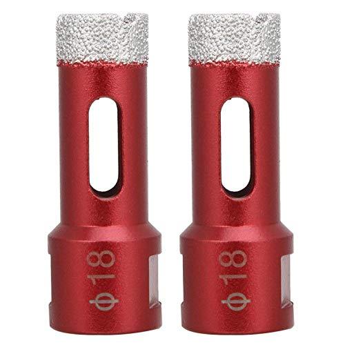 Broca de sierra de diamante M14 Broca de amoladora angular para baldosas de cerámica para amoladora angular(Angle grinder hole opener 18mm)