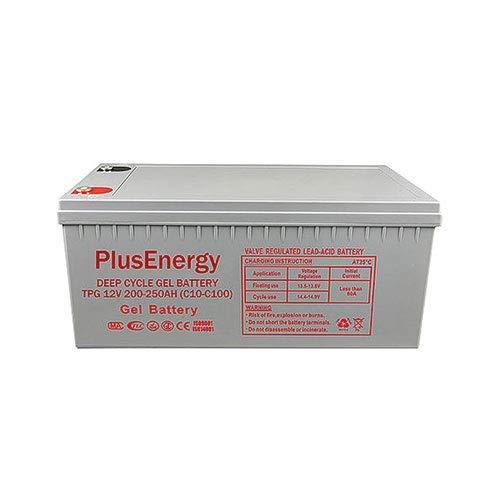 Batería de Gel PlusEnergy TPG250 12V 250Ah