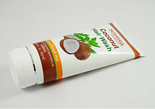 Patanjali Ayurved Coconut Hair Wash For Dry & Rough Hair Unique Blend 150 Ml