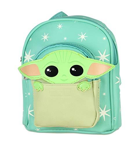 Star Wars The Mandalorian Baby Yoda The Child Micro Mini Backpack Shoulder Bag
