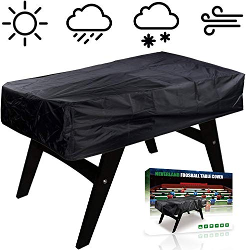 NEVERLAND Foosball Table Cover, Outdoor Waterproof Dust...