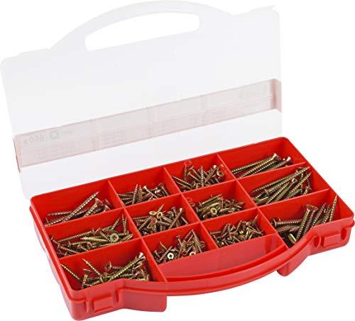 Connex DP8500079 - Tornillo para madera (pack de 660)