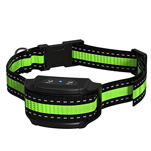 Collares Antiladridos de Perro, Vibración y Sonido, para Perros Pequeños, Medianos y Grandes - Collar de Adiestramiento de Perros Resistente al Agua 7 Sensibilidad Ajustable Sin Descarga Eléctrica