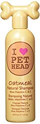 Natural Oatmeal shampoo - great for dogs with sensitive skin This Natural shampoo delivers protection, condition and comfort Oatmeal, aloe vera, vitamins C and E and jojoba oil combine to moisturise and soften coat and help heal and protect sensitive...