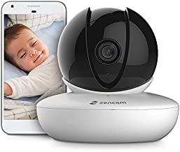 Amcrest Zencam WiFi Camera, Pet Dog Camera, Nanny Cam with Two-Way Audio, Baby Monitor with Cell Phone App, Pan/Tilt Wi-Fi Wireless IP Camera, Micro SD Card, RTSP, Cloud, Night Vision, M1W