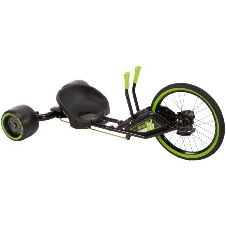 20' Dual-stick Steering Green Machine RT, Green/Black