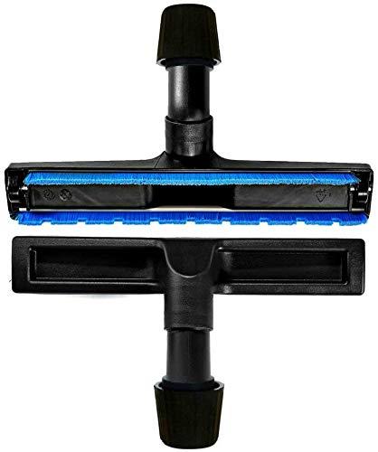 Maxorado 30-40 mm cepillo de aspiradora universal para suelos duros, para parqué, aspiradora compatible con Hyla Kärcher Einhell Deuba nedis Bosch Clatronic Balter Rowenta Pie