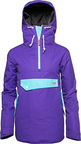 CLWR (Colour Wear) Damen Recruit Anorak, Ultra Violet, XS