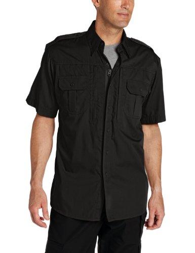Propper Men's Short Sleeve Tactical Shirt, Black, 4X-Large Regular