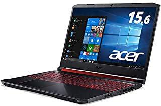 Acer(エイサー) 15.6型ノートパソコン Nitro 5 オブシディアンブラック(i7/16GB/128+1TB/1650) AN515-54-A76QG6
