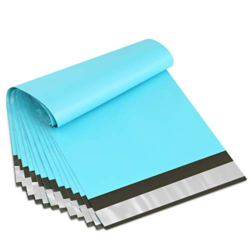 UCGOU 6x9 Inch 200Pcs Teal Poly Mailers Premium Shipping Envelopes Mailer Self Sealed Mailing Bags with Waterproof and Tear-Proof Postal Bags