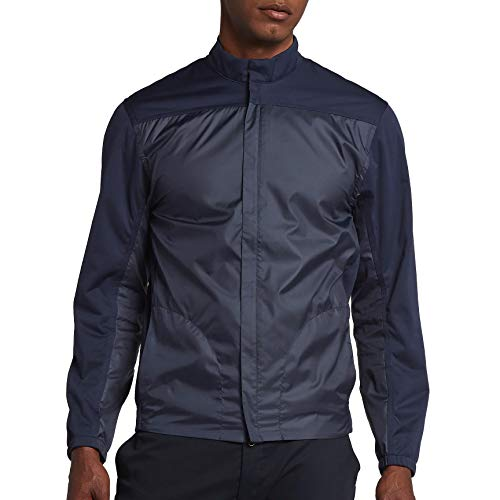 Nike New Shield Full Zip CORE Golf Jacket Obsidian/Black X-Large