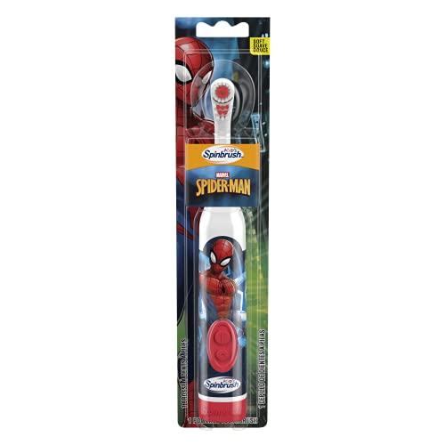 Arm & Hammer Kid's Spinbrush Spiderman Powered Toothbrush,...