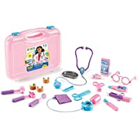 19-Piece Learning Resources Pretend and Play Doctor Kit (Pink)
