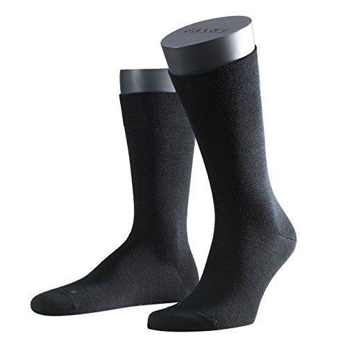 FALKE Functional Herren Socken Sensitive Berlin 3er Pack, Größe:47-50;Farbe: schwarz