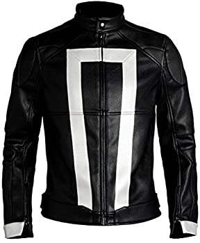 S.H.I.E.L.D - Luna Ghost Rider Agents Of Shield Leather Jacket  L