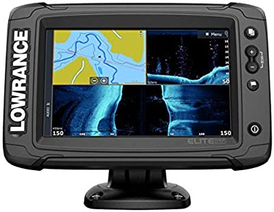 Elite-7 Ti2-7-inch Fish Finder Active Imaging 3-in-1Transducer, Wireless Networking