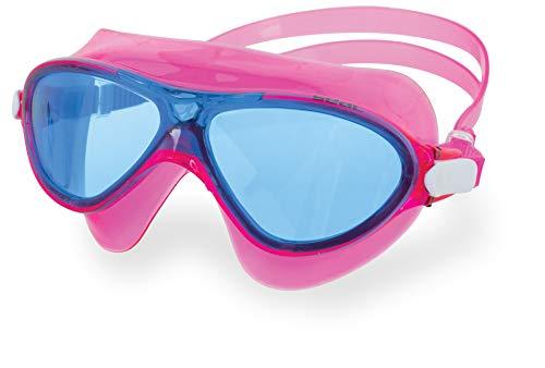 Seac Unisex-Jeugd Ricky Masker Goggles voor kinderen, Ideaal voor Zwembad en Open Water, Roze Laz, junior